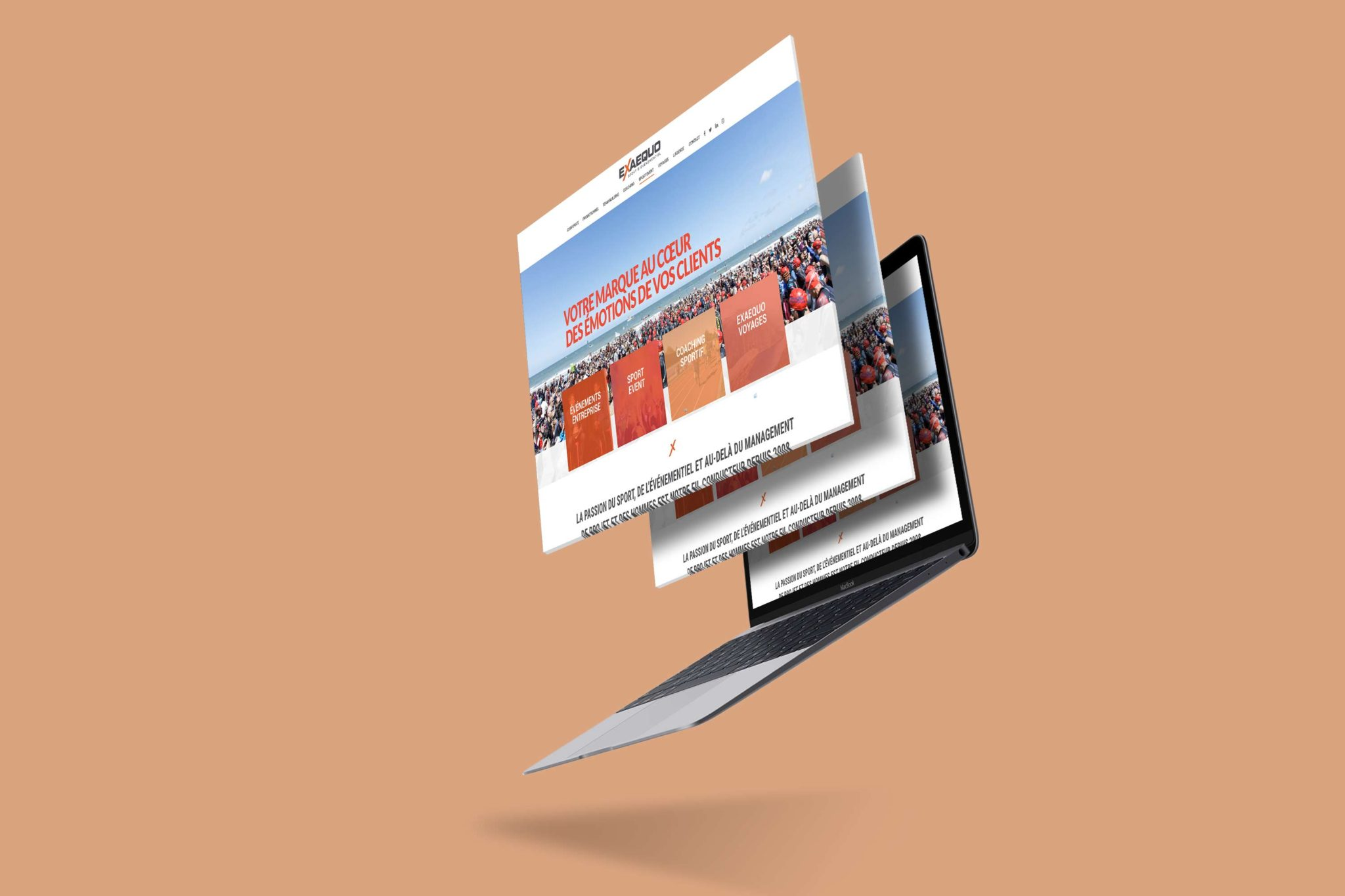 Mock up Webdesign