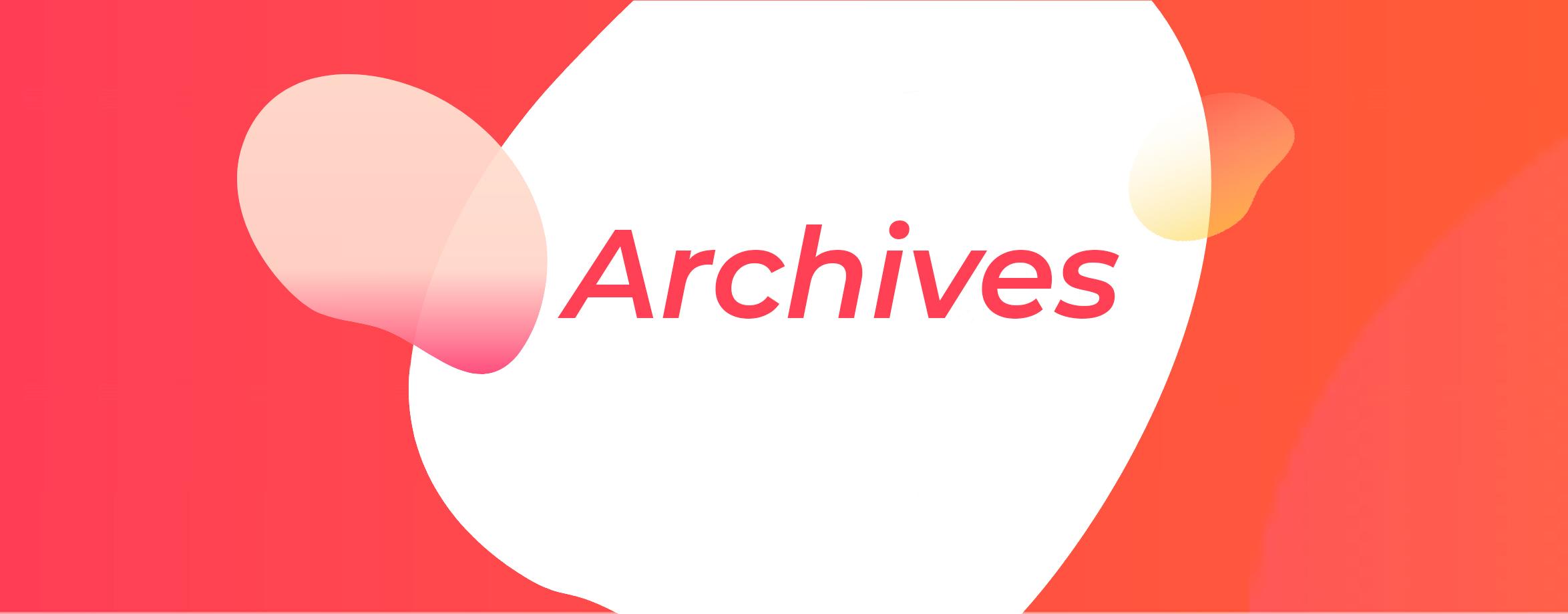archives du studio