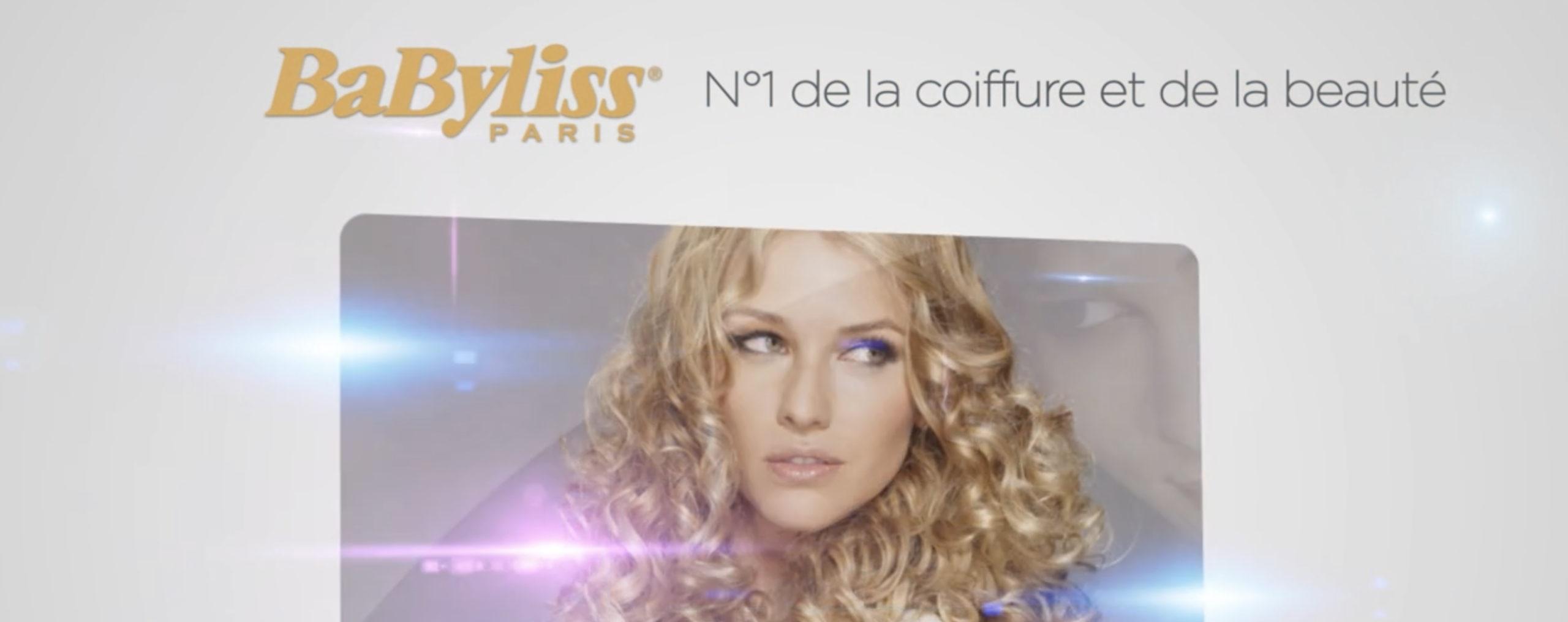 Motion design Babyliss Paris