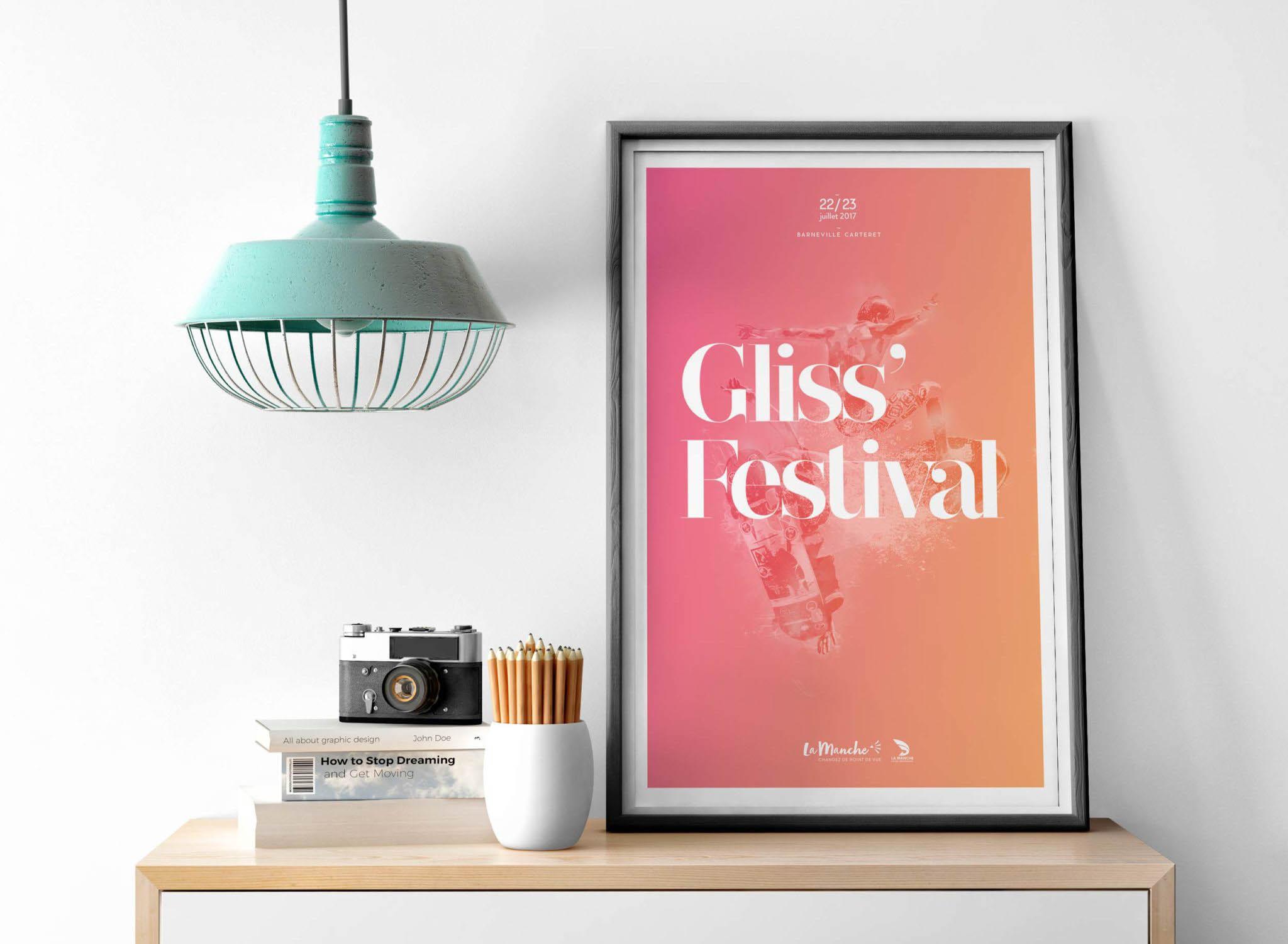 Affiche Gliss Festival