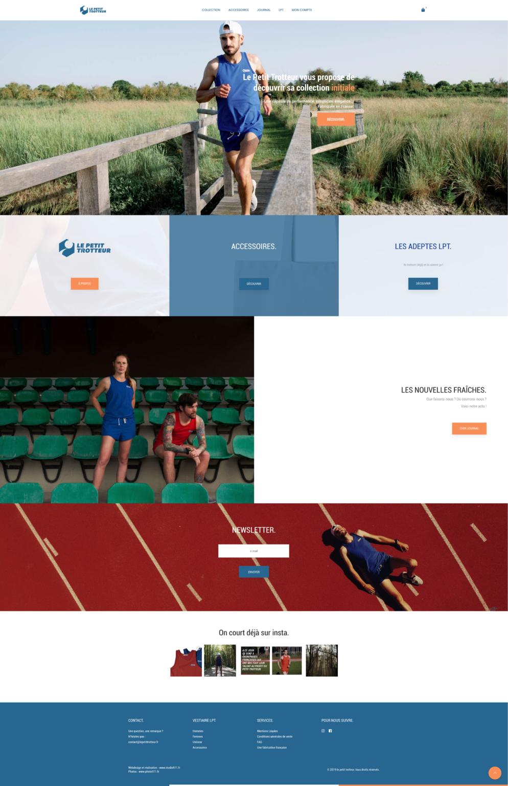 web design à caen exemple