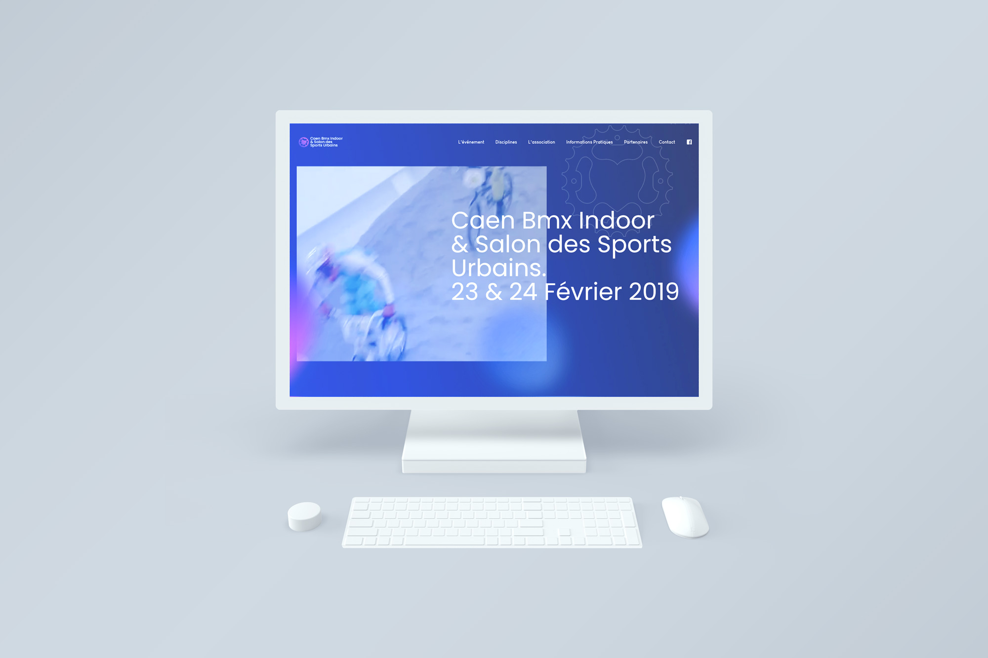 creation du site web caen bmx indoor