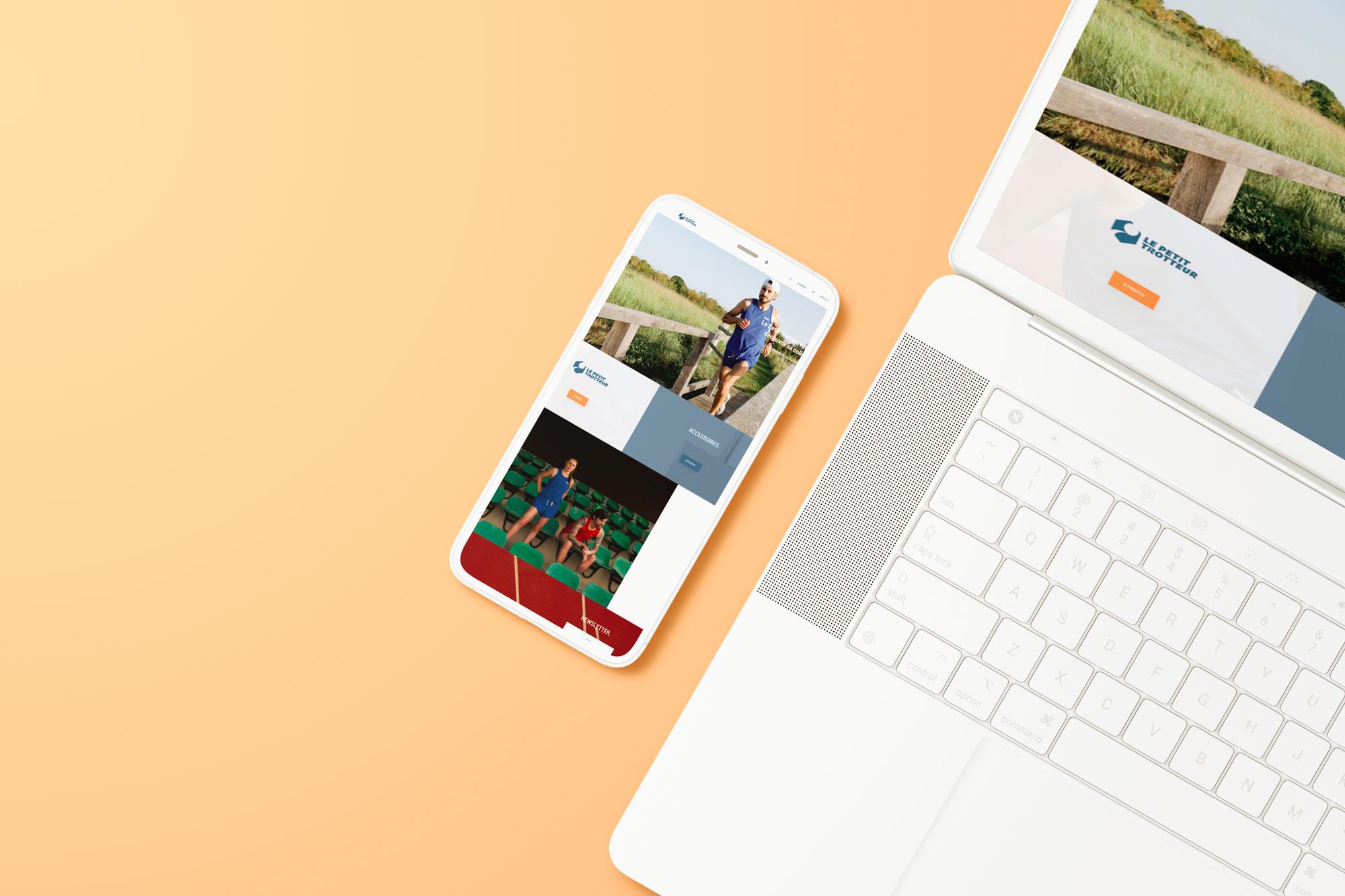 Webdesign le petit trotteur