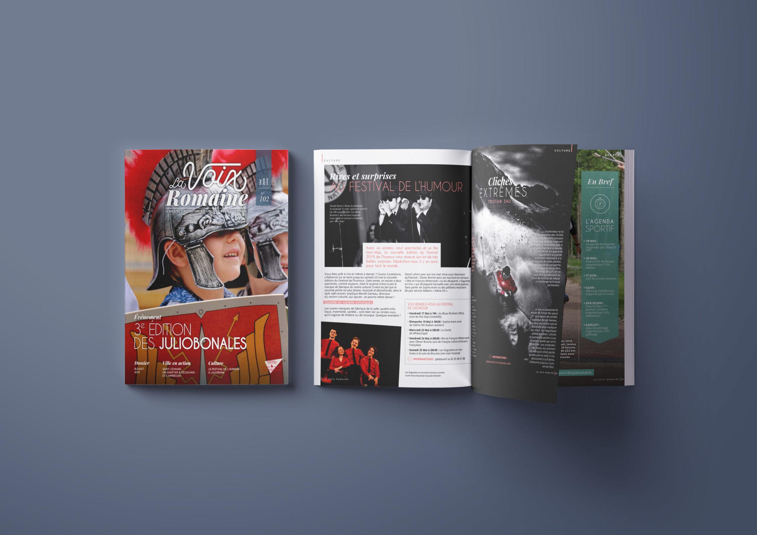 La voix Romaine magazine