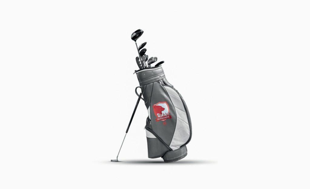Sac de golf mockup
