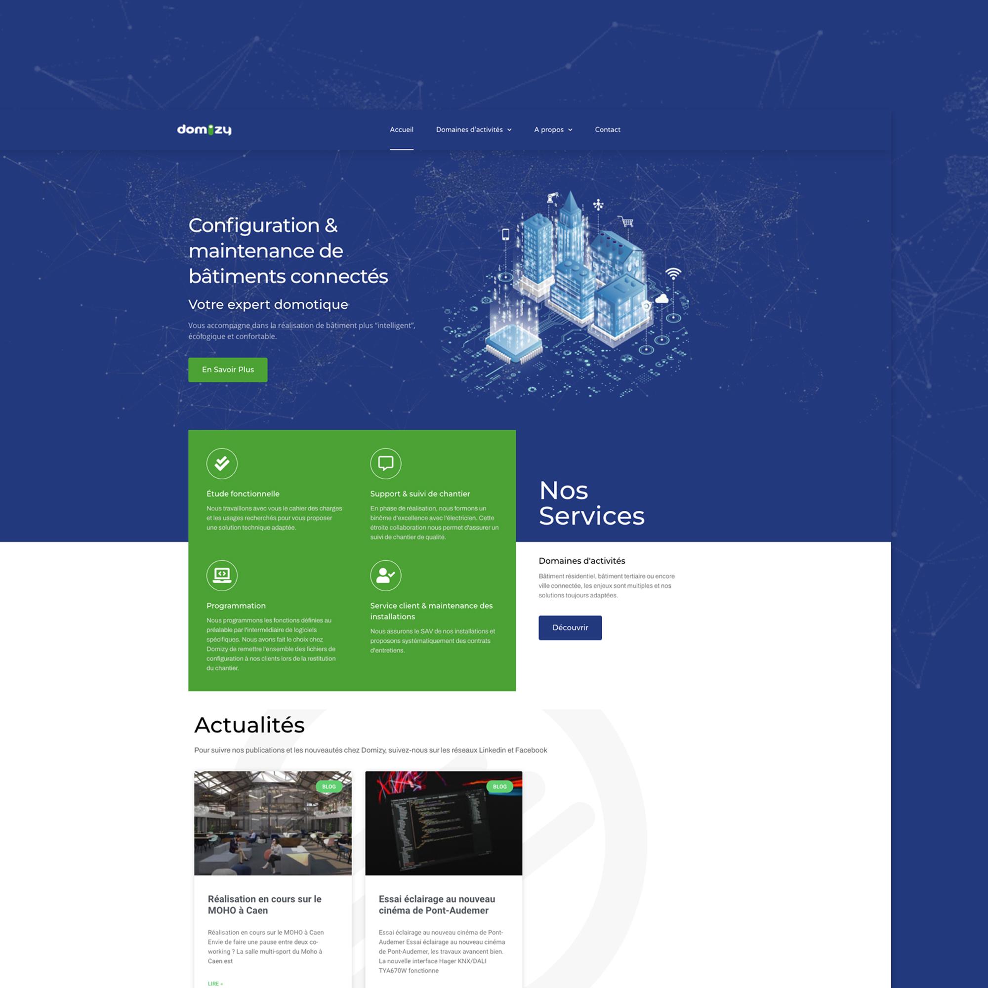 creation site web normandie domotique